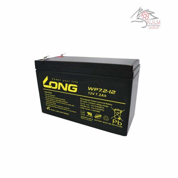 باتری 7.2 آمپر-7.2A battery