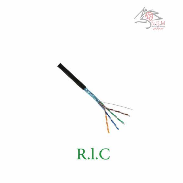 کابل شبکه cat6 UTP -تمام مس برند RLC
