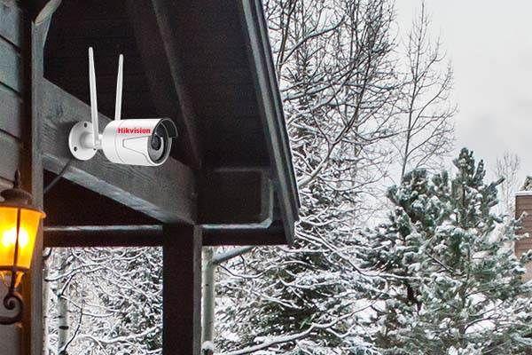 روش نصب دوربین مداربسته در زمستان