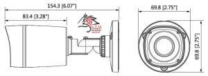 دوربین مداربسته مدل DH-HAC-HFW1100RP