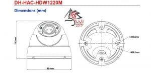 دوربین مداربسته دام داهوا مدل DH-HAC-HDW1220MP