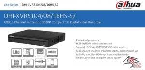 DVR داهوا مدل DHI-XVR5104HS-S2