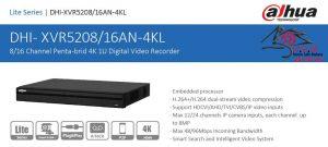 DVR داهوا مدل DHI-XVR5216AN-4KL
