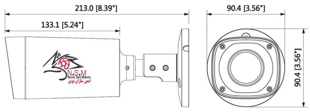 دوربین تحت شبکه بولت داهوا مدل IPC-B2A30