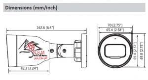 دوربین مداربسته شبکه داهوا B1B40P