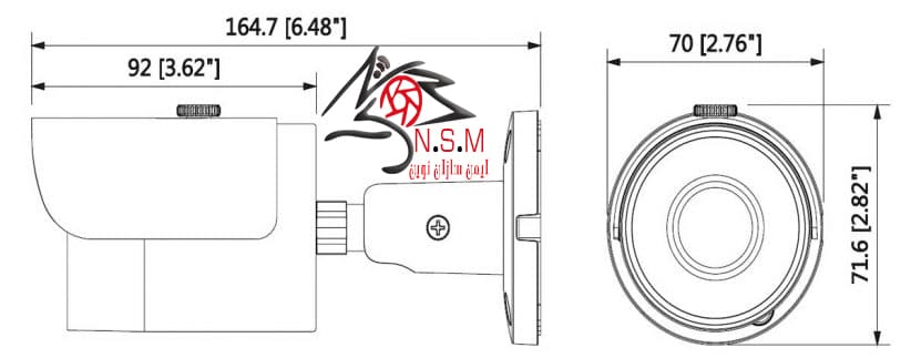 دوربین IP داهوا مدل DH-IPC-HFW1431SP