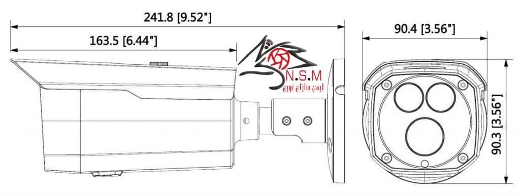 دوربین تحت شبکه بولت داهوا مدل DH-IPC-HFW4431DP-BAS-H
