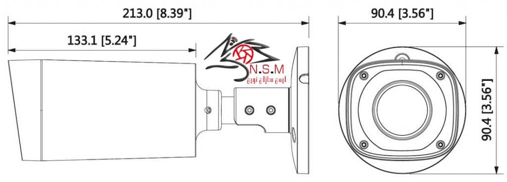 دوربین IP داهوا مدل DH-IPC-HFW2431RP-VFS-IRE6