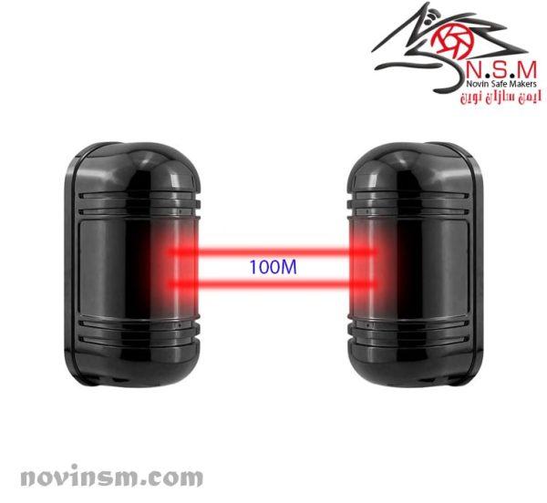 چشمی بیم خطی 100 متری   چشمی خطی 100 متری  چشمی دو لنز چشمی بیم خطی 100 متری