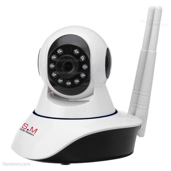 دوربین بیسیم چرخشی برند NSM|دوربین بیسیم BABYCAM برند NSM|دوربین بی بی کم | دوربین چرخشی
