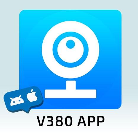 نرم افزار V380 | دوربین لامپی NSM | دوربین baby cam