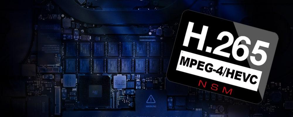 تکنولوژی H265 در دوربین مداربسته | دستگاه ایکس وی آر