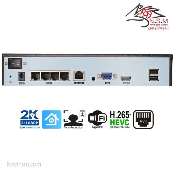 دستگاه NVR با POE داخلی