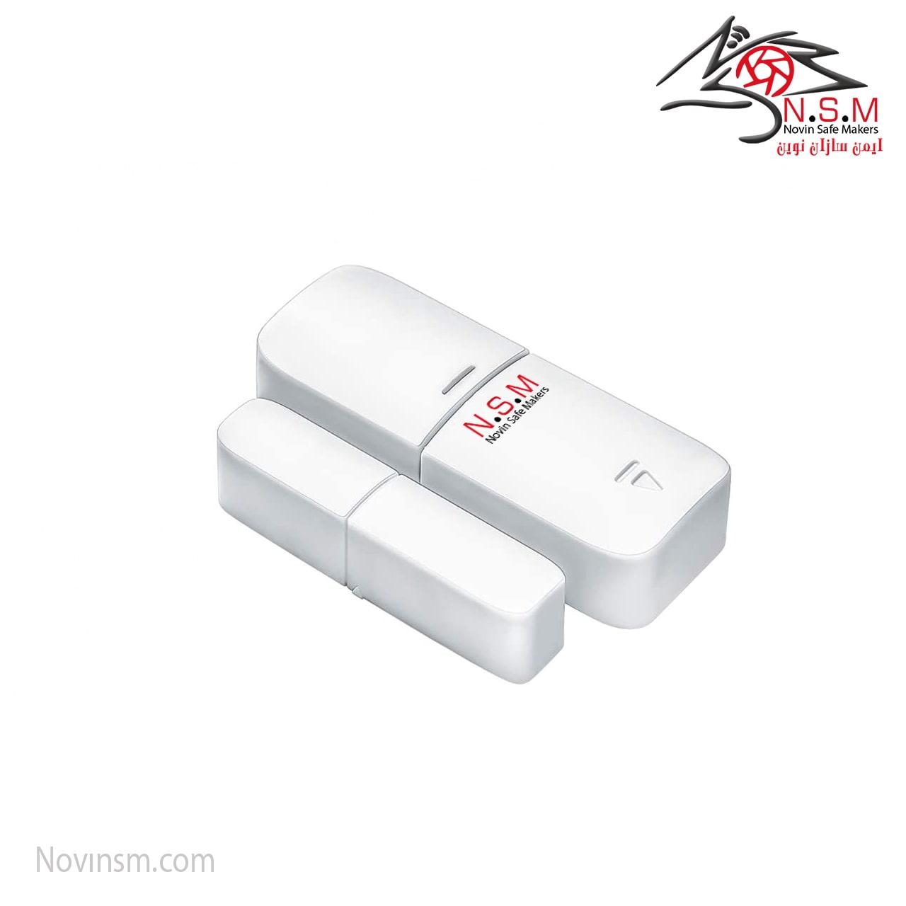 مگنت دزدگیر هوشمند | مگنت بی سیم NSM مدل TUYA | مگنت بی سیم فرکانس 433 مگاهرتز