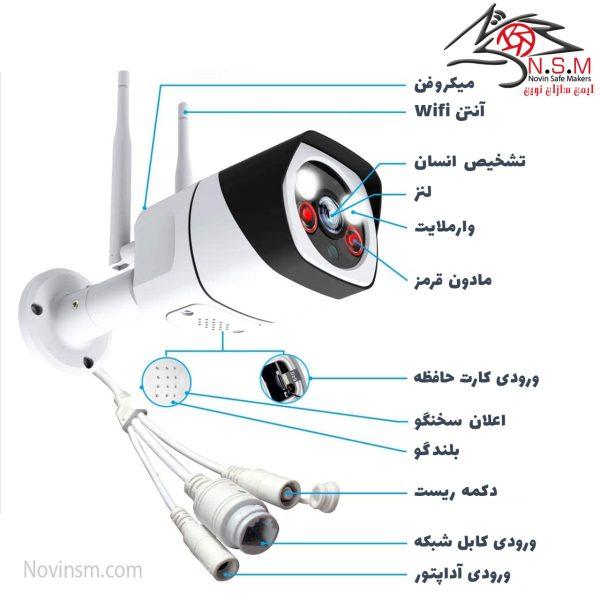 انواع دوربین v380